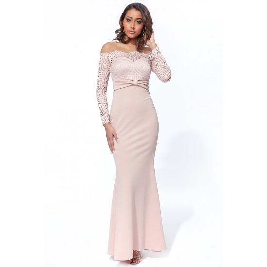 Φόρεμα γοργονέ για Γάμο-Βάπτιση