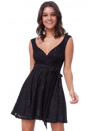 Φόρεμα δαντελένιο μίνι