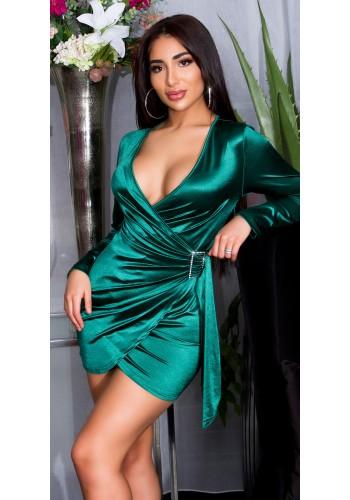 Σατέν φόρεμα βραδινό