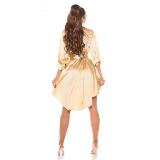 Πουκαμίσα φόρεμα ασύμμετρο