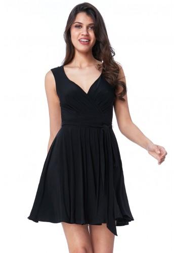 Φόρεμα κλος σε κρουαζέ στυλ
