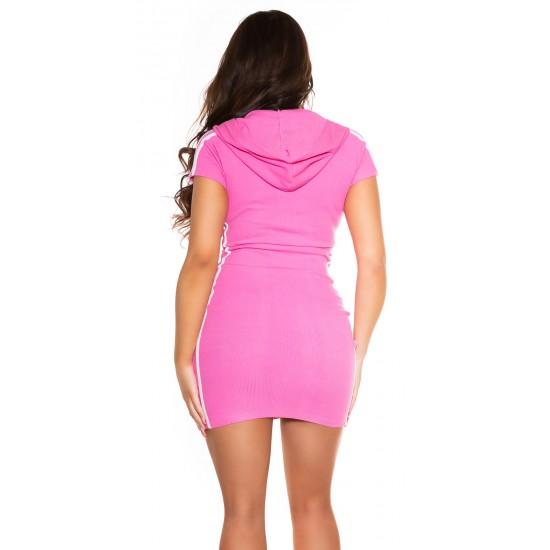 Rip Φόρεμα καθημερινό με κουκούλα