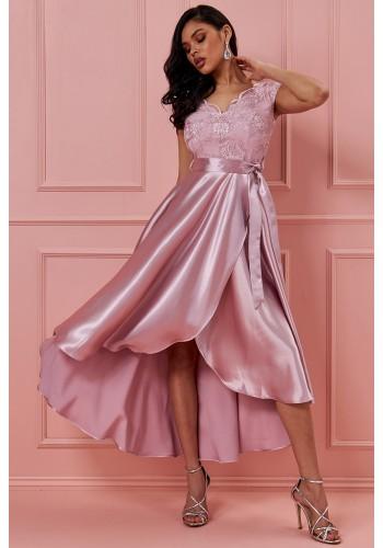 Σικάτο ασύμμετρο φόρεμα