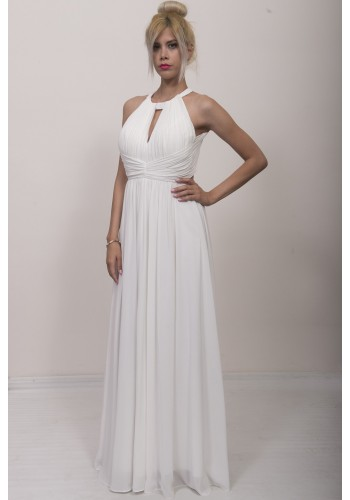 Εντυπωσιακό φόρεμα με ανοιχτή πλάτη