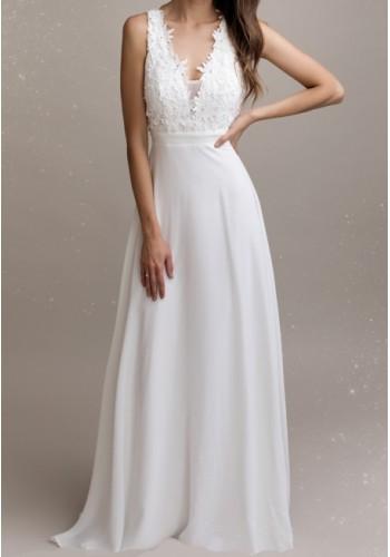 Φόρεμα νυφικό με δαντέλα 3d