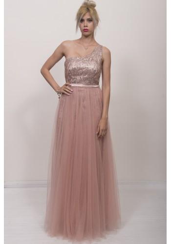 Φόρεμα με ένα ώμο