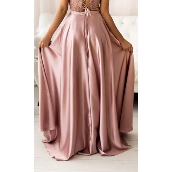 Ασύμμετρη φούστα σατέν