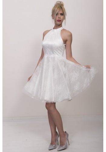 Νυφικό φόρεμα κοντό