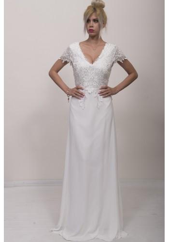Νυφικό φόρεμα με δαντέλα
