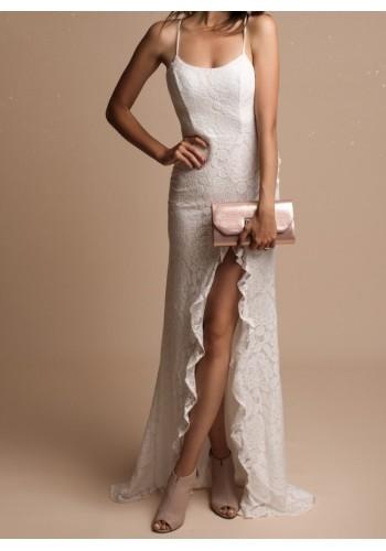 Φόρεμα νυφικό με δαντέλα